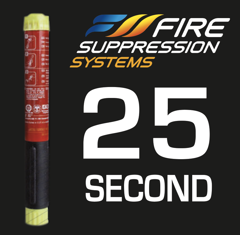 FIRE SUPPRESSION SYSTEMS 25 SECOND